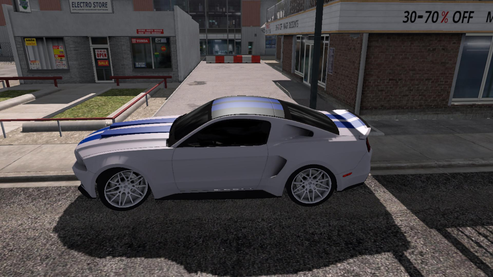 Ford Mustang Need For Speed V1 0 For Ats Euro Truck