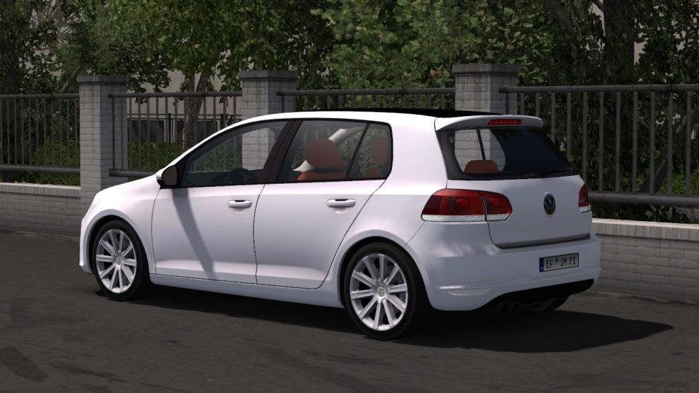 Fix My Car >> ETS2 VOLKSWAGEN GOLF MK6 1.31-1.32 CAR -Euro Truck ...