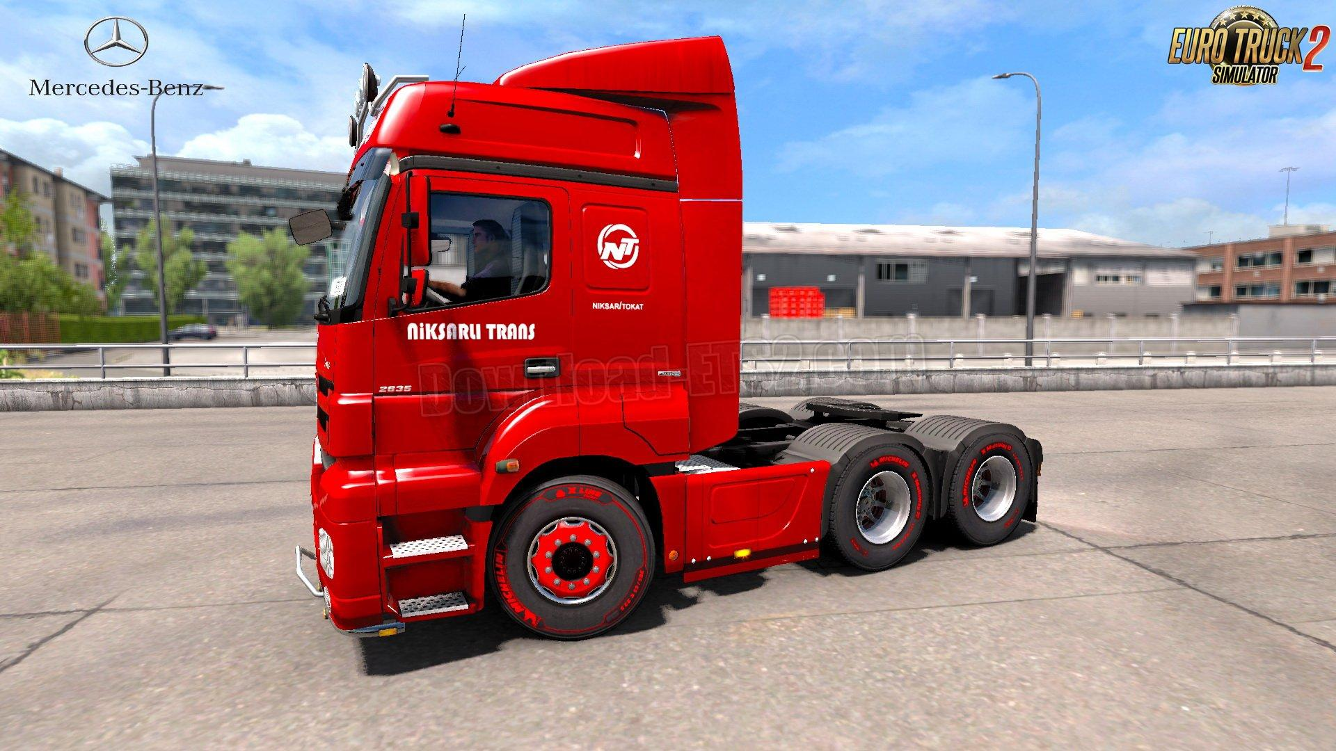 Seat Skins For Trucks >> MERCEDES AXOR + INTERIOR V1.0 1.31 TRUCK MOD -Euro Truck Simulator 2 Mods