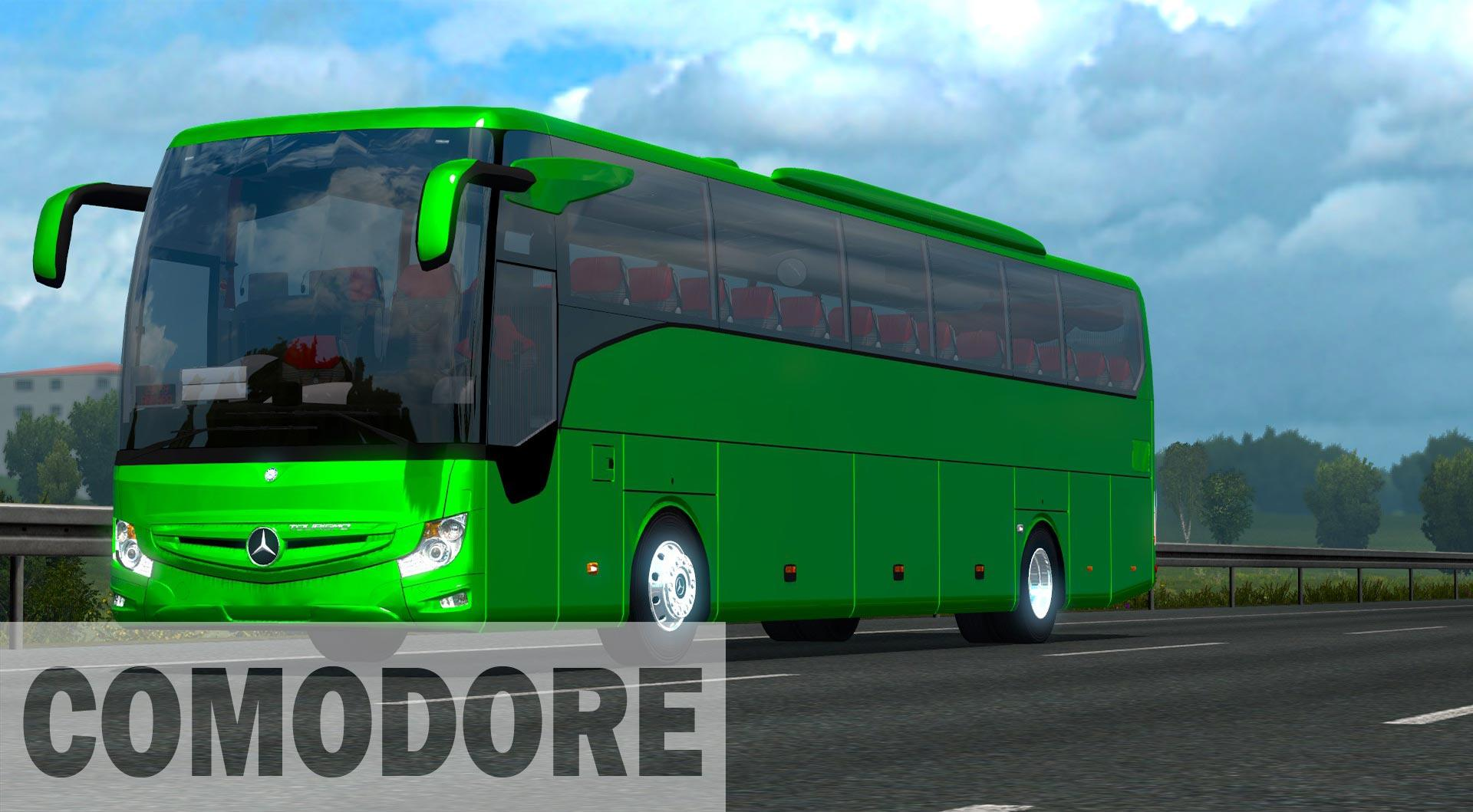 mercedes benz tourismo 2018 16 17 rhd v1 0 bus mod euro. Black Bedroom Furniture Sets. Home Design Ideas