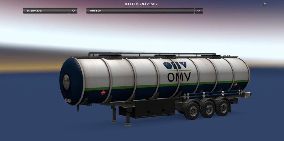 Omv Fuel Cistern V1 0 Ets2 Euro Truck Simulator 2 Mods