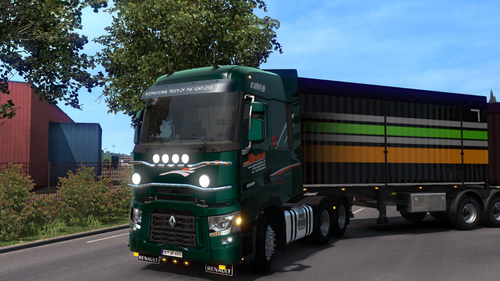 Renault Range T V7 3 1 32 From Rta Truck Mod Euro Truck