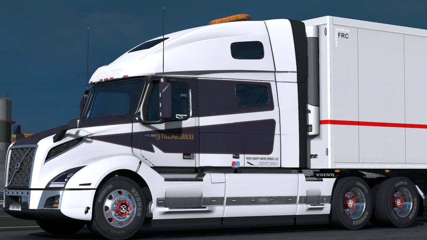 VOLVO VNL 2019 (1.31, 1.32) TRUCK MOD -Euro Truck Simulator 2 Mods