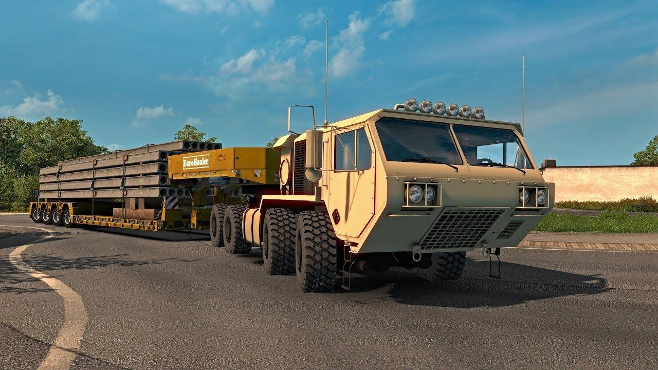 Oshkosh Defense Hemtt A4 1 31 Compatible For Ats Euro