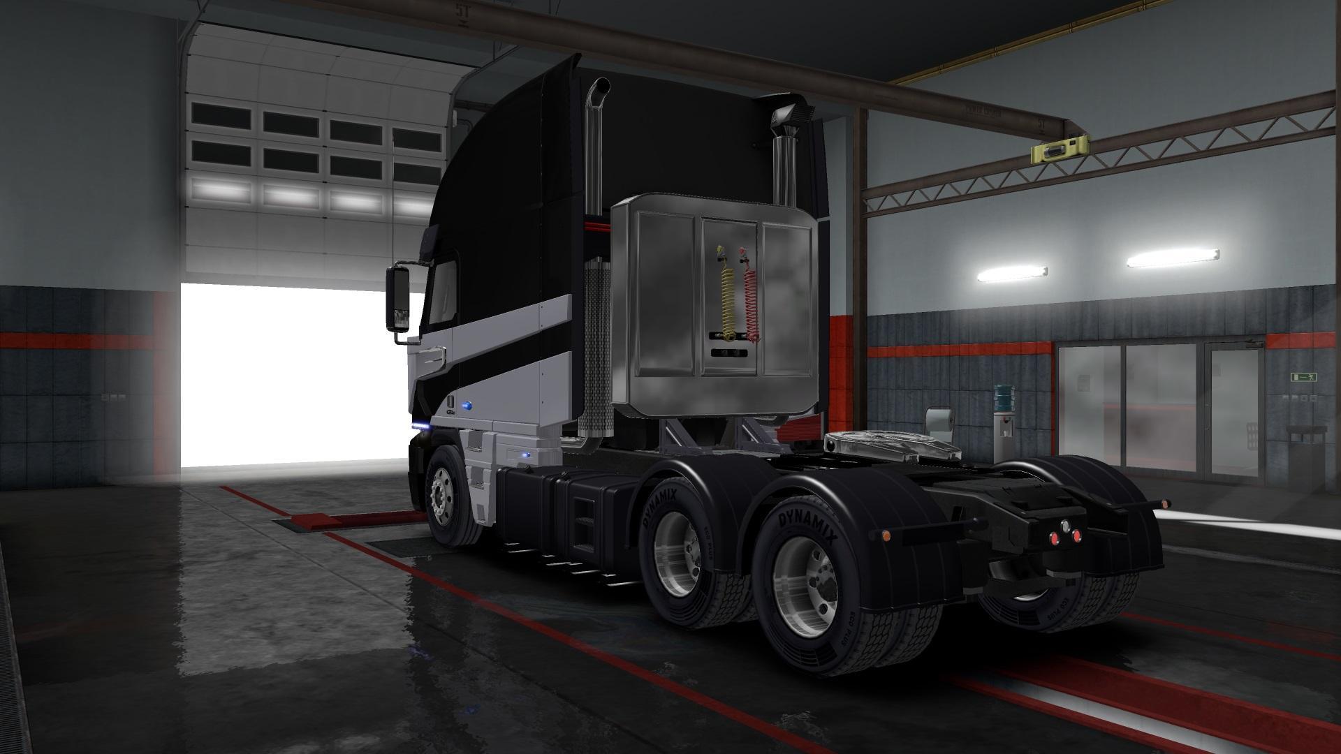 FREIGHTLINER ARGOSY TF4 (GALVATRON) 1.32.X TRUCK MOD -Euro ... Freightliner Argosy Galvatron