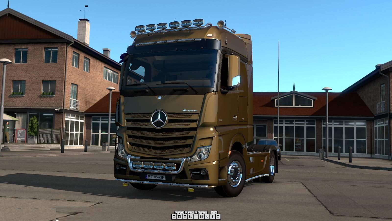 Awm camiones MB actros mp3 LH//aerop ga-ksz Senit Querfurt
