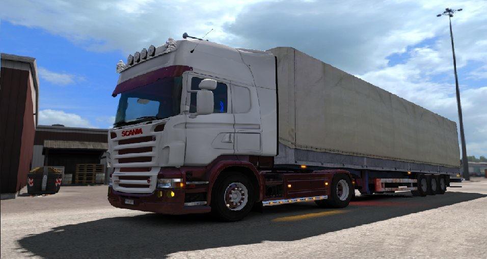 OLD SCHOOL SEMITRAILER 1 32 ETS2 -Euro Truck Simulator 2 Mods