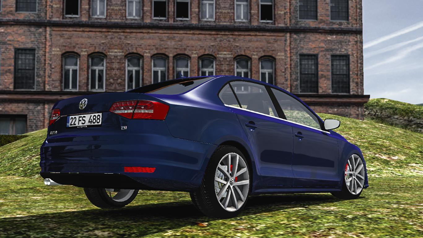 Parts For Cars >> VOLKSWAGEN JETTA 1.32.X CAR MOD -Euro Truck Simulator 2 Mods