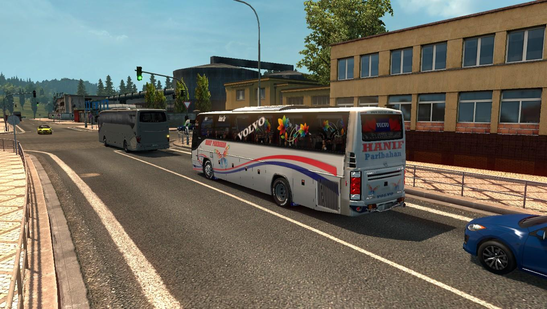 VOLVO B12BTX BUS REDESIGN SKIN TEXTURE AND INTERIOR 3D BUS SKIN V1.0.2 ETS2 -Euro Truck ...