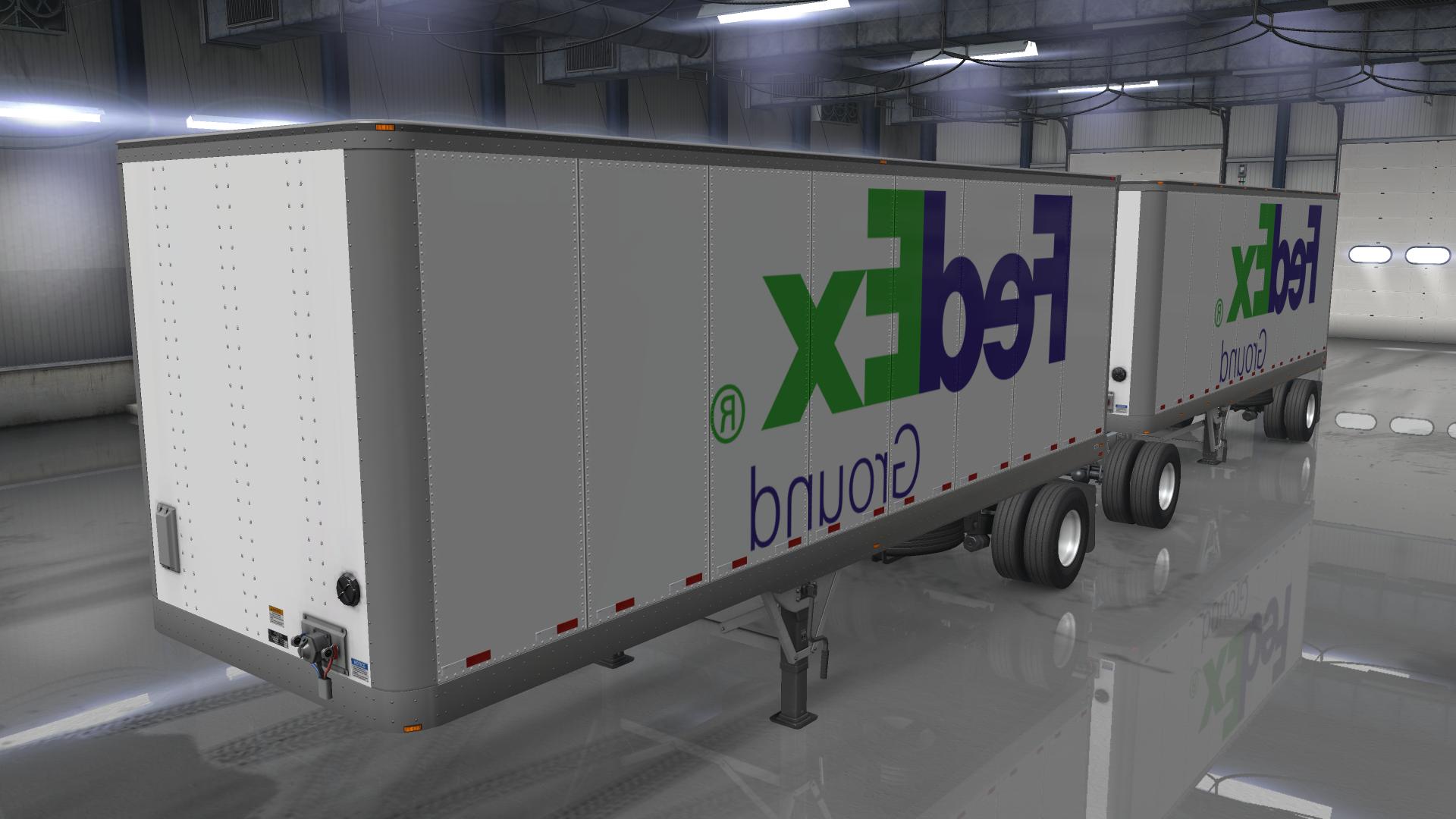 Fedex Trailer Pack 1 32 Mod Euro Truck Simulator 2 Mods