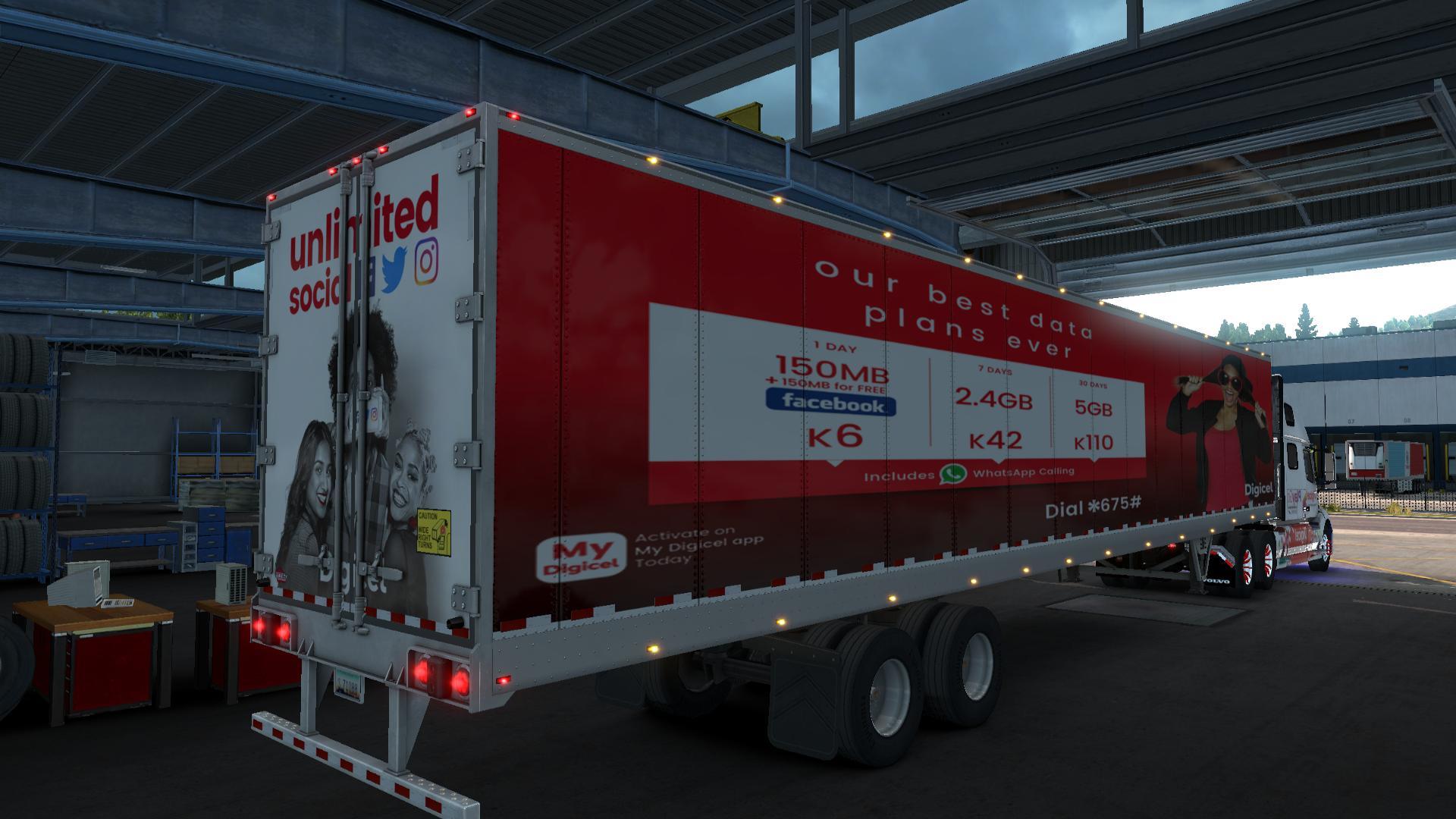 VOLVO VNL 2019 COMBO SKIN 1.32 Mod -Euro Truck Simulator 2 Mods