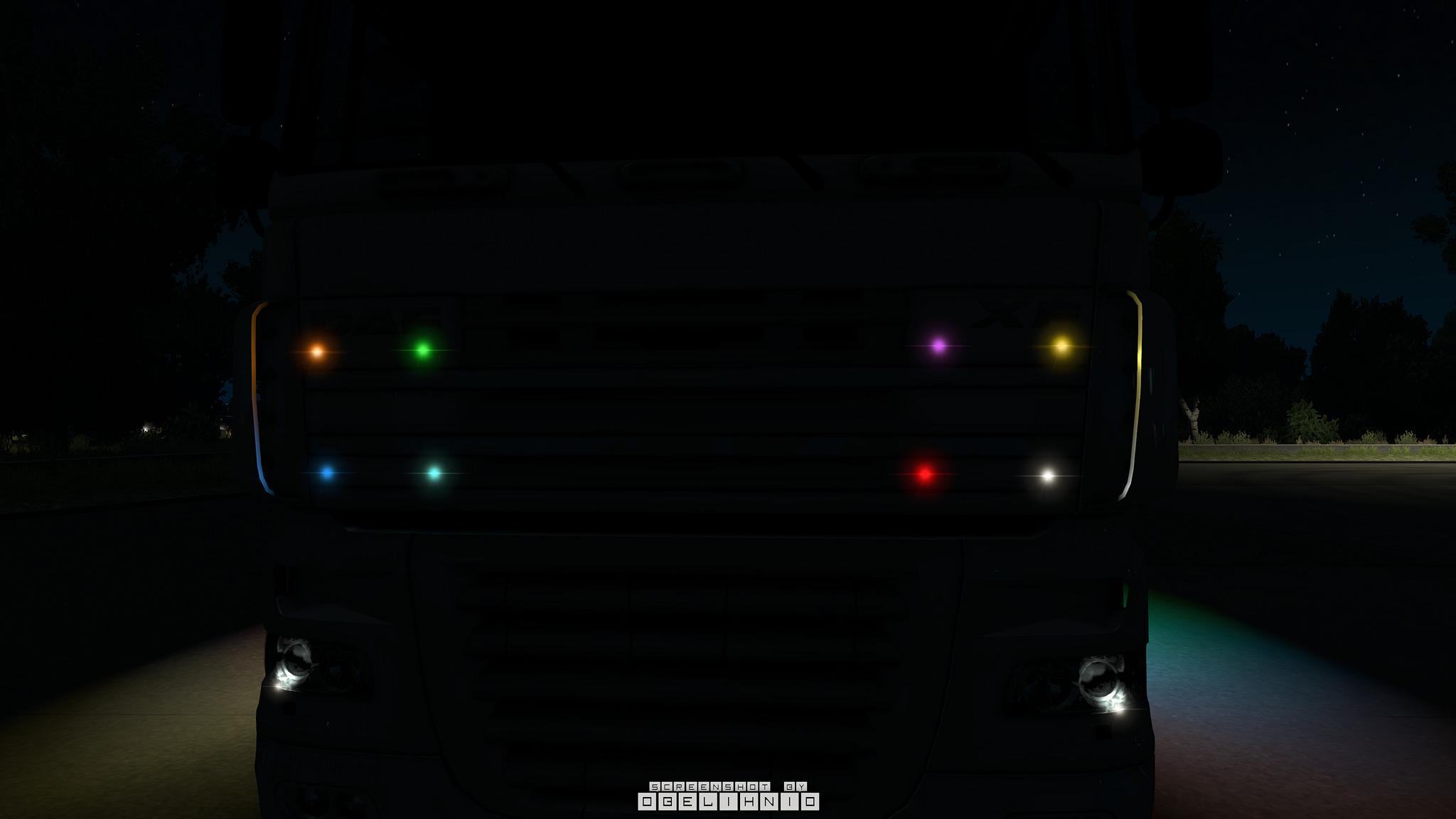 Led Strobe Lights For Trucks >> BOREMAN LED MARKER LIGHTS V1.6 TUNING MOD -Euro Truck ...