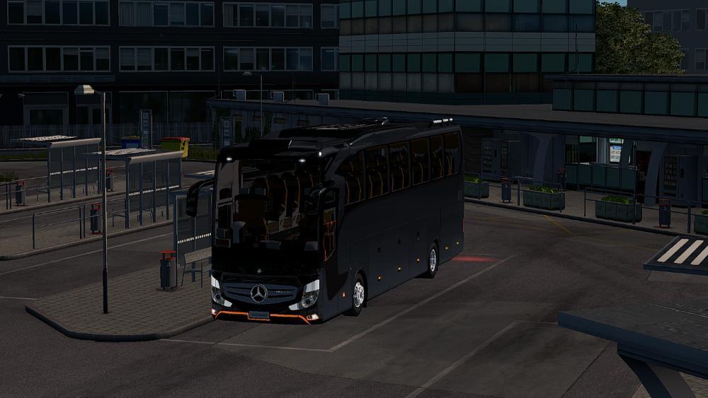 Dealer And Sound Fix For Mercedes Benz Travego 2016 1 32 X Bus Mod