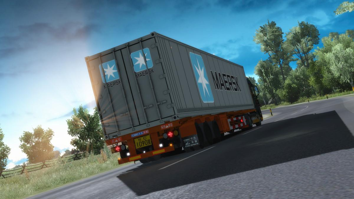 maersk reefer container 1 32 x ets2