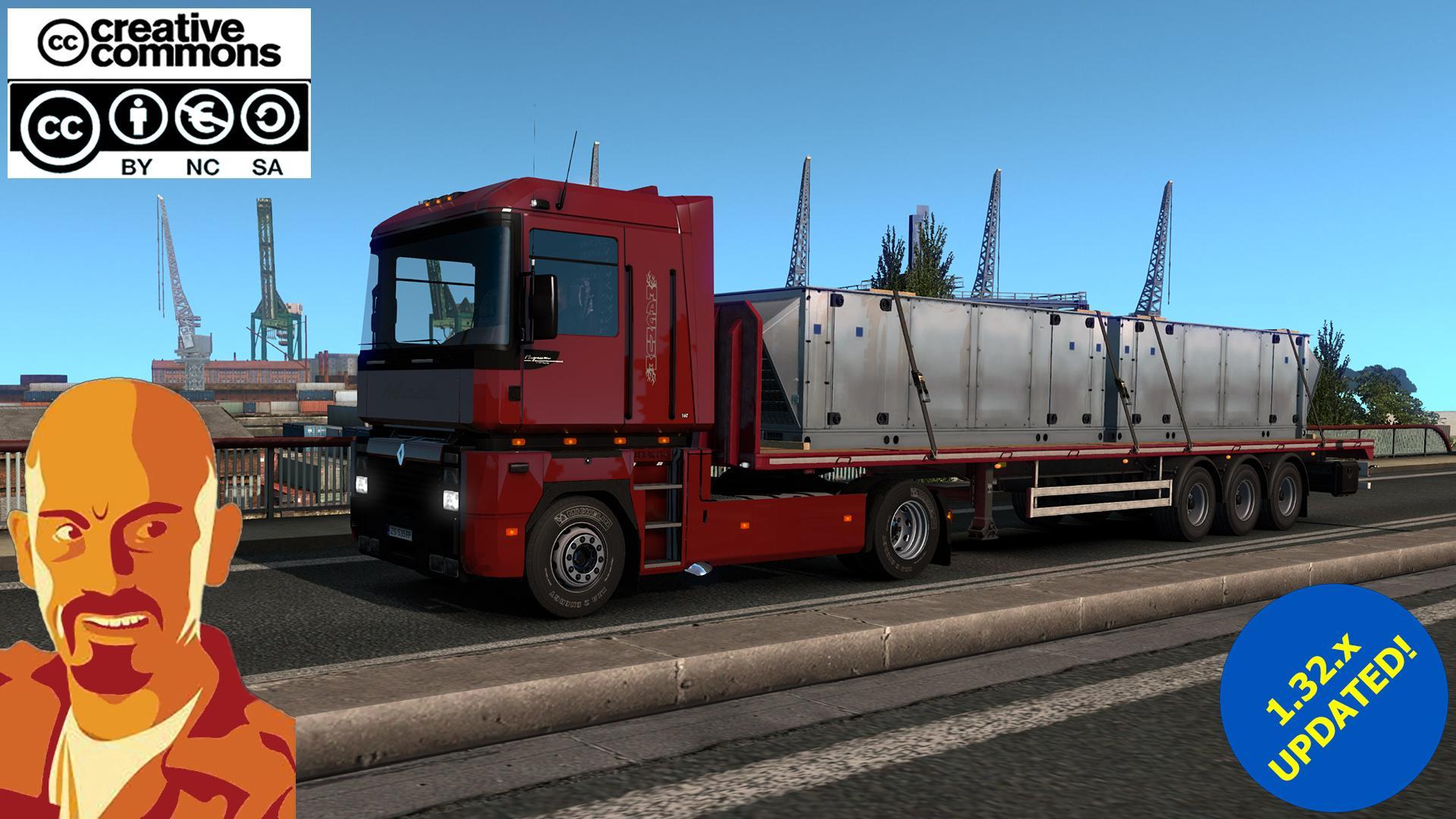 renault integral ets2 truck mod euro truck simulator 2 mods. Black Bedroom Furniture Sets. Home Design Ideas