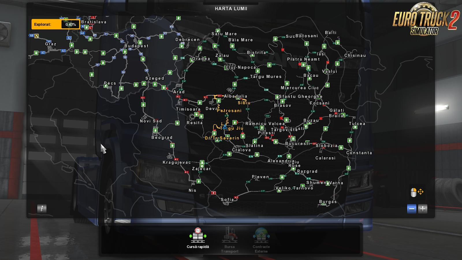 ROEXTENDED V1.8.1 FOR PROMODS 2.31 MAP MOD -Euro Truck Simulator 2 Mods