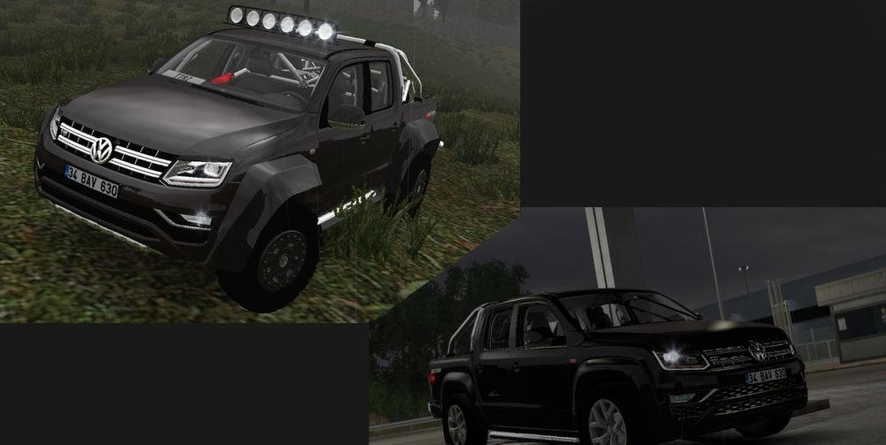 VOLKSWAGEN AMAROK V6 0 CAR MOD -Euro Truck Simulator 2 Mods