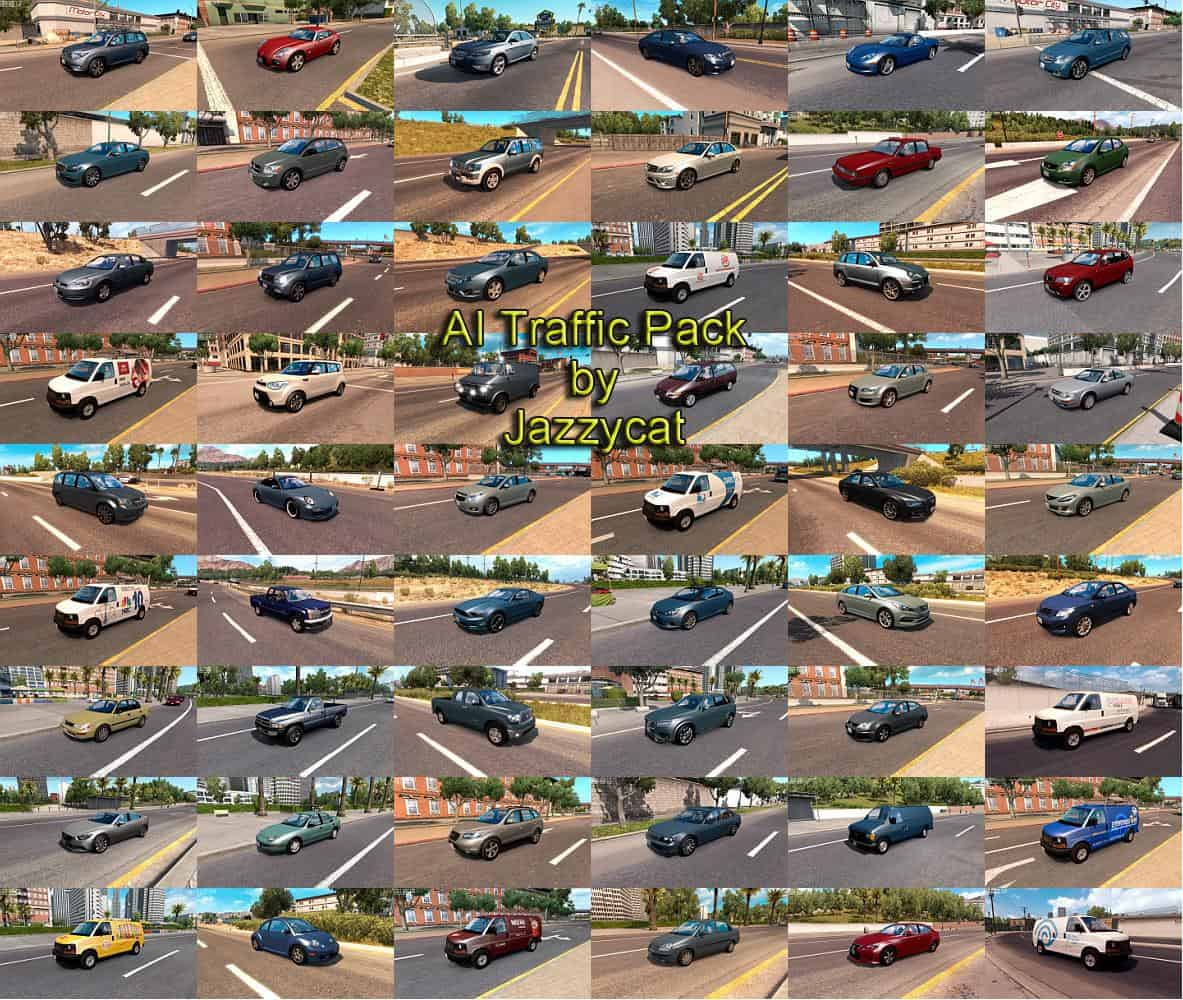 Ai Traffic Pack By Jazzycat V5 2 For Ats Euro Truck