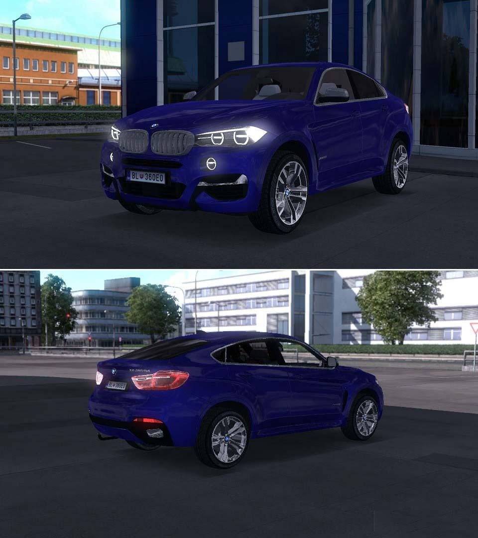 Bmw X6 Xdrive50i Review: BMW X6 XDRIVE50I 1.32.X CAR MOD -Euro Truck Simulator 2 Mods