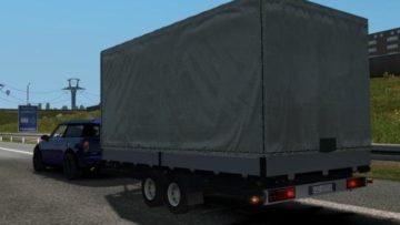 CAR TRAILER V1 0 1 32 X ETS2 -Euro Truck Simulator 2 Mods