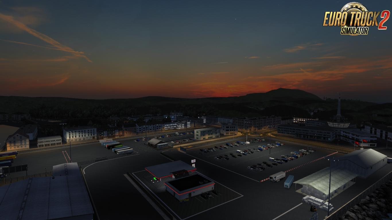 PROMODS SUPPORT ADD-ON FOR RGM BY FRKN64 MOD -Euro Truck