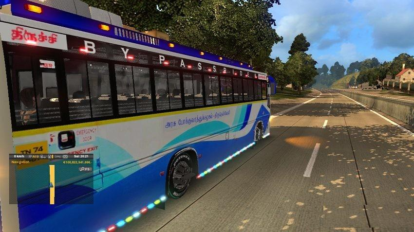Tnstc Nagercoil To Tiruchy Bus Mod V1 0 Ets2 Euro Truck Simulator 2 Mods