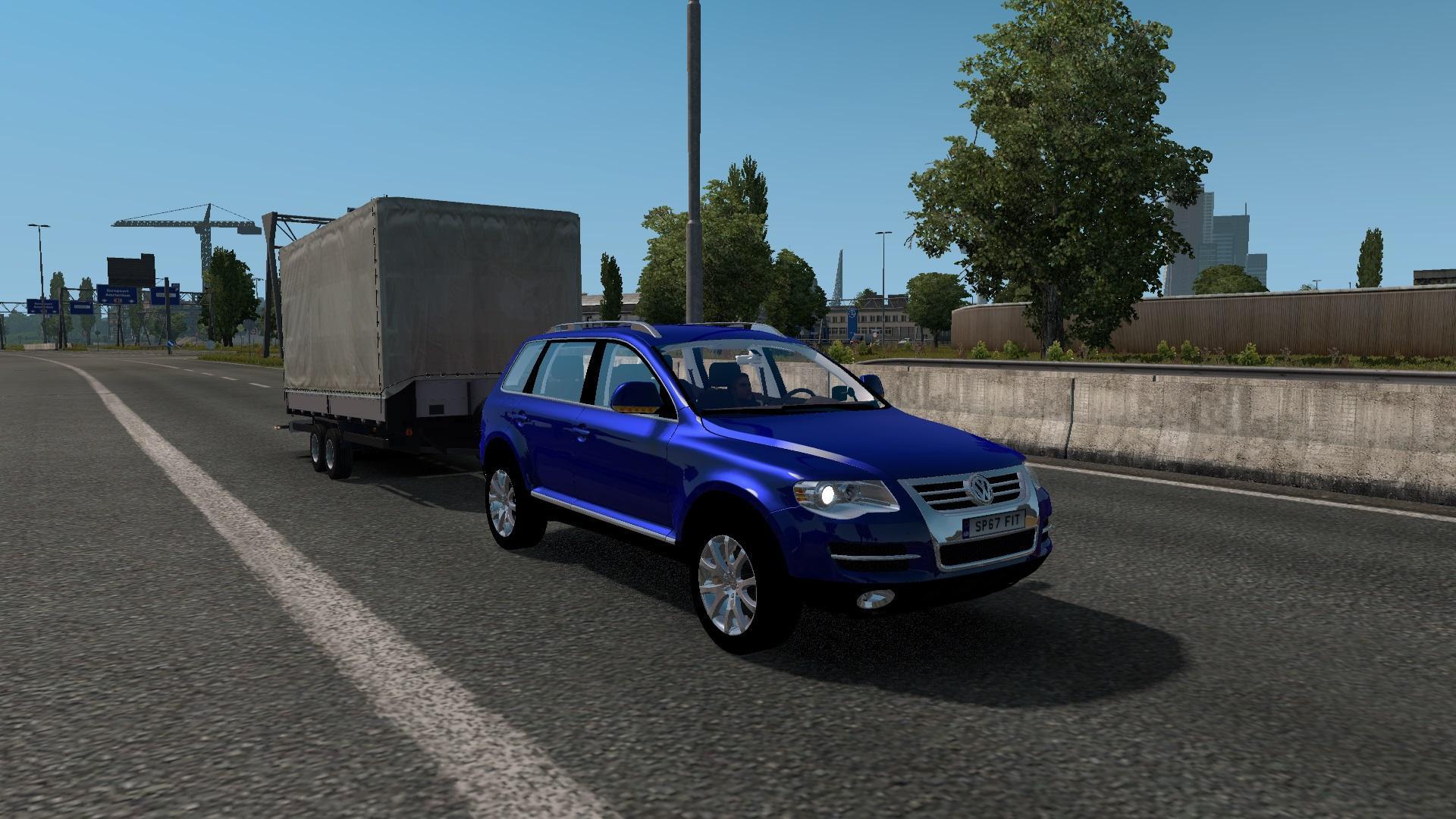 Volvo Truck Dealer >> VOLKSWAGEN TOUAREG V1.0 CAR MOD -Euro Truck Simulator 2 Mods