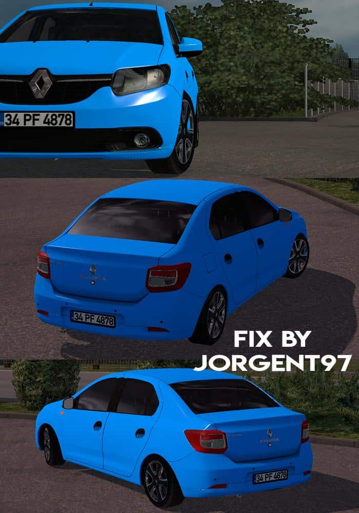 Fix Renault Symbol 2015 1 32 X Mod Euro Truck Simulator 2 Mods