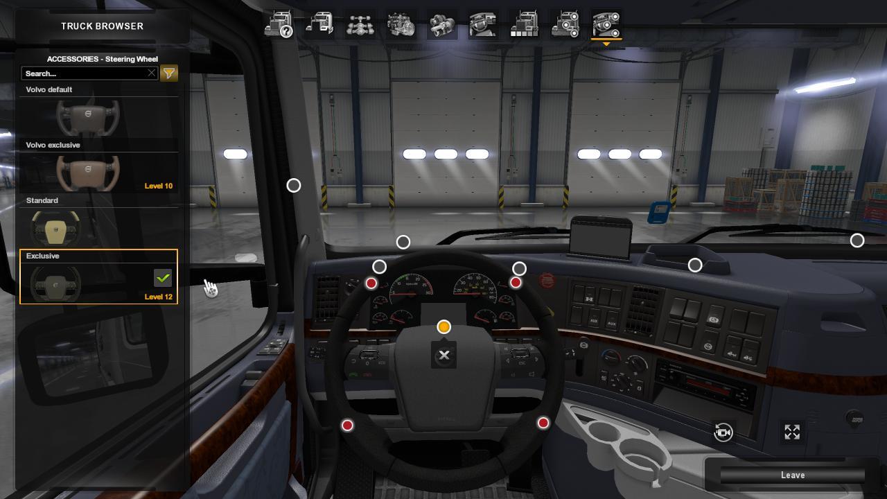 Two steering wheels for volvo vnl for ats euro truck simulator 2 mods - Volvo vnl wallpaper ...