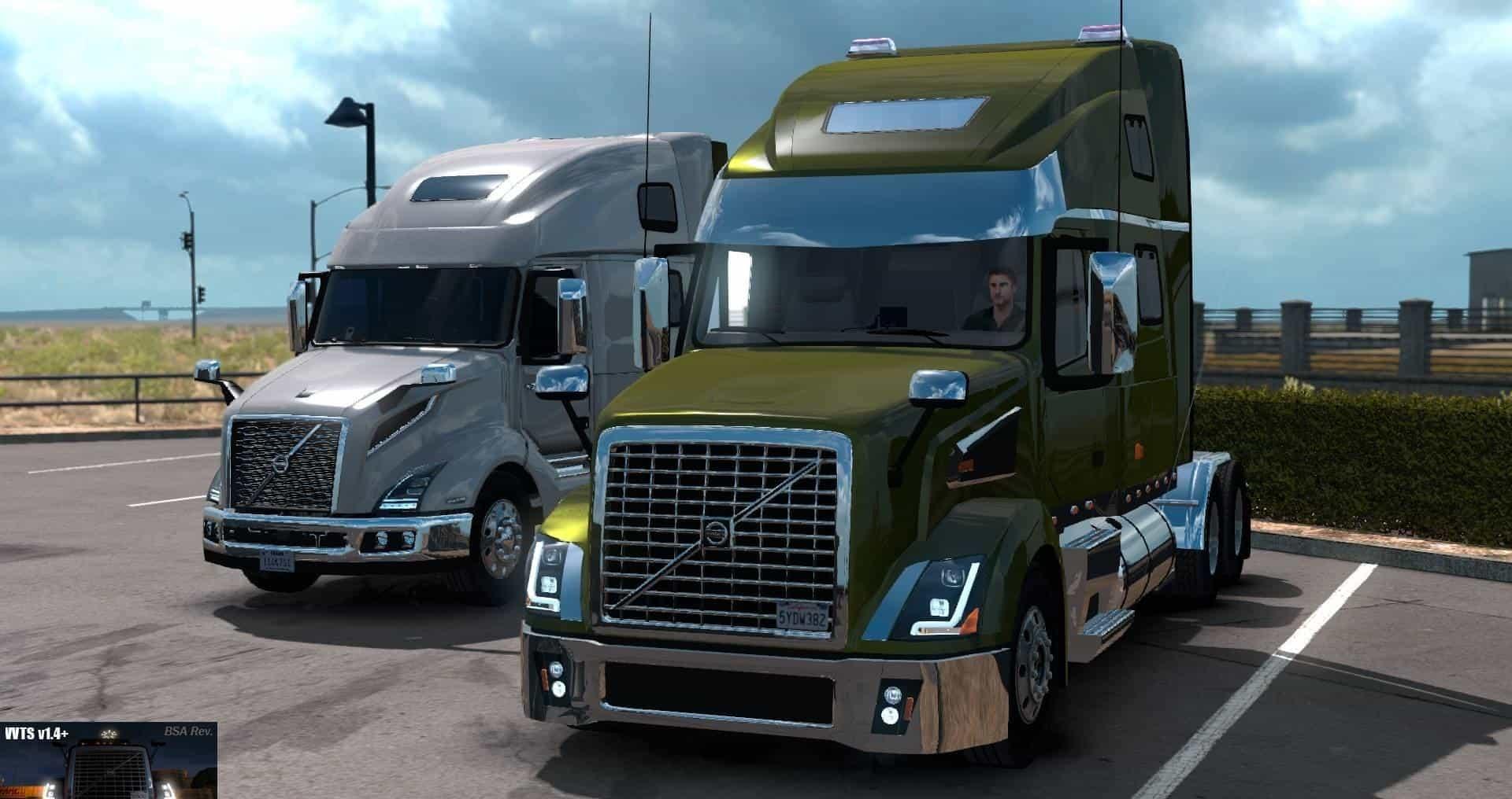 Volvo VNL Shop v1.4+ (BSA Revision) v1.32 Truck -Euro ...
