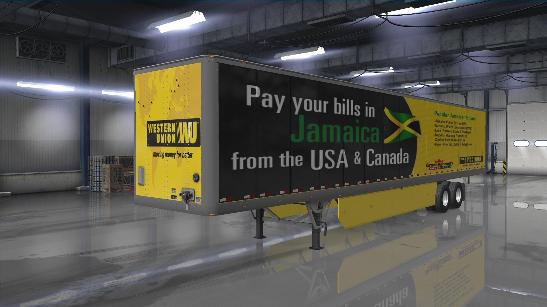Western union skin ats euro truck simulator mods