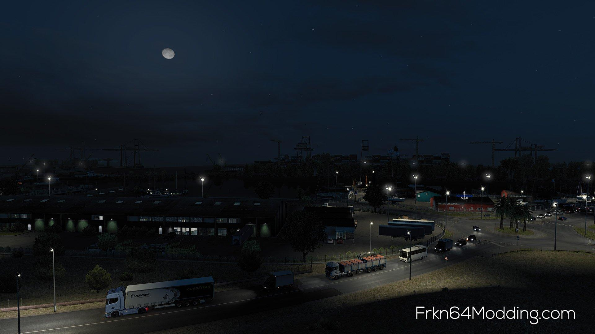 REALISTIC GRAPHICS MOD V2 4 BY FRKN64 1 33 X ETS2 -Euro