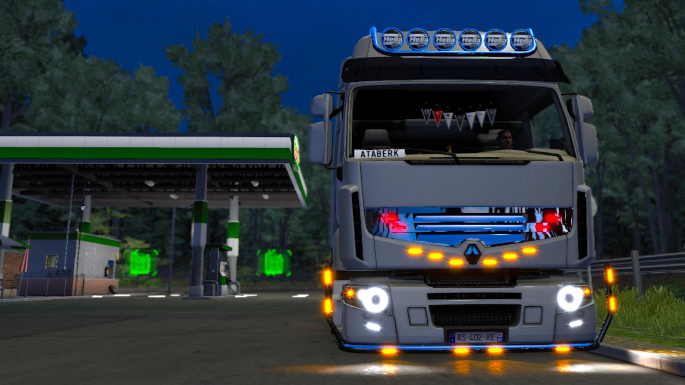 Renault premium er garage v1 0 truck mod euro truck for Credit garage renault