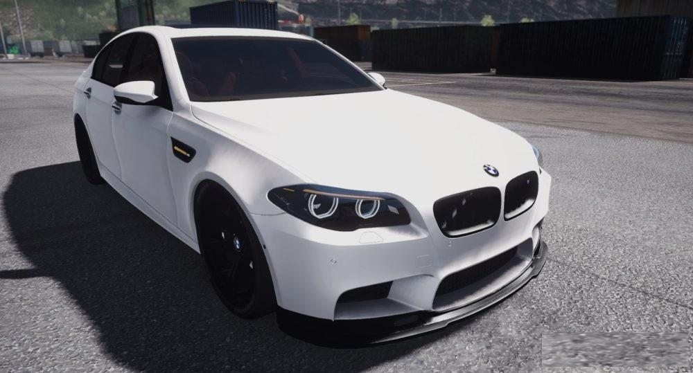 Bmw M5 F10 1 33 X Car Mod Euro Truck Simulator 2 Mods