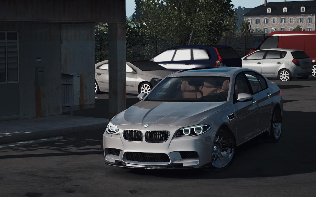 Bmw M5 F10 1 33 X Car Euro Truck Simulator 2 Mods