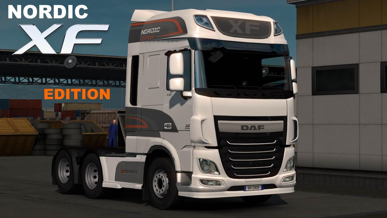Daf Xf Euro6 Skinpack 1 33 X Ets2 Euro Truck Simulator 2 Mods