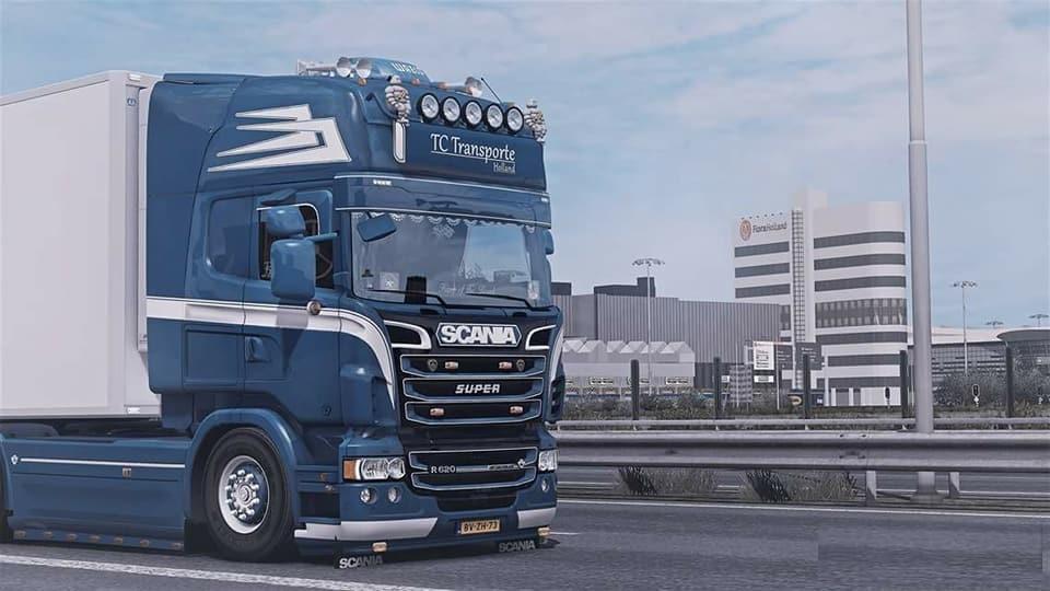 EUROFRESH MAP 1 33 X MAP MOD FOR ETS2 -Euro Truck Simulator