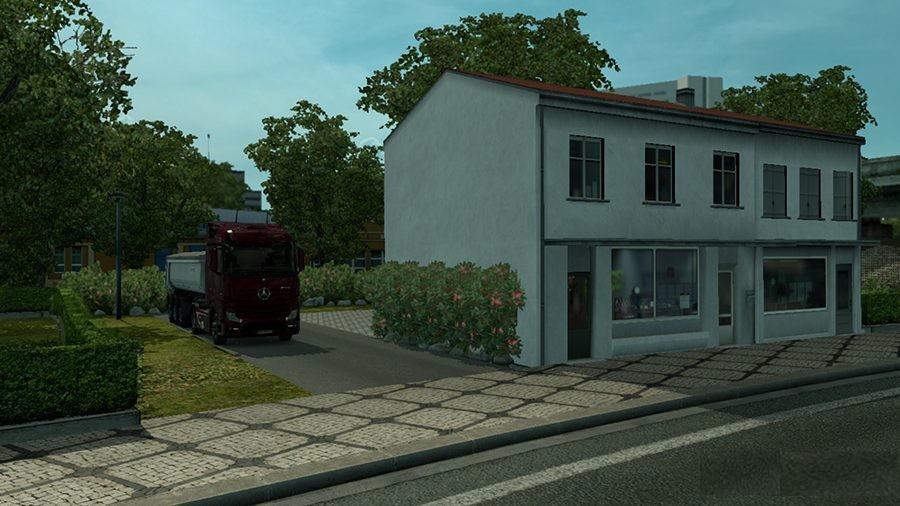 SIMPLE HOUSE MOD – AMSTERDAM ETS2 -Euro Truck Simulator 2 Mods
