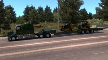 Trailking Dovetail Ownable 1 33 x ATS Mod -Euro Truck