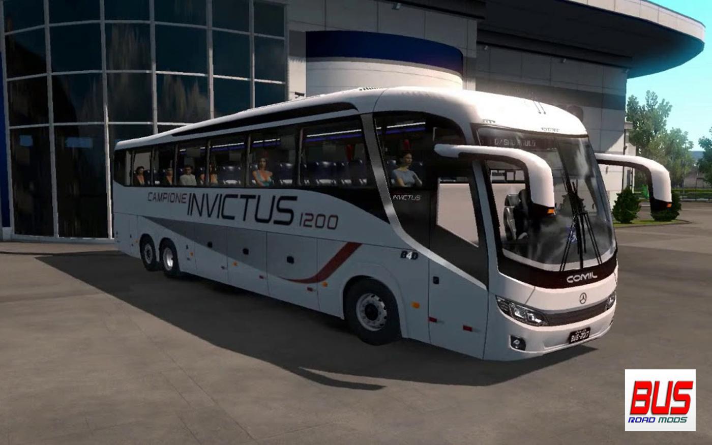 COMIL INVICTUS 1200 MB 1 34 BUS MOD -Euro Truck Simulator 2 Mods
