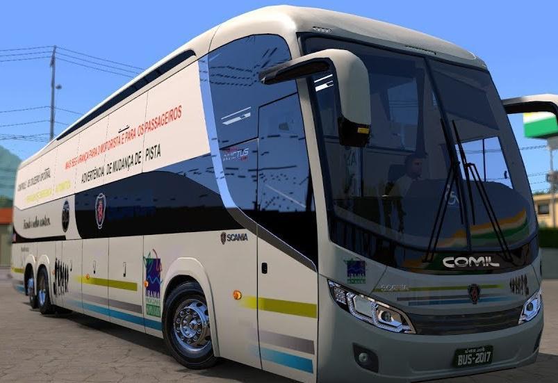 COMIL INVICTUS VOLVO-SCANIA 1200 FOR 1 34 BUS MOD -Euro