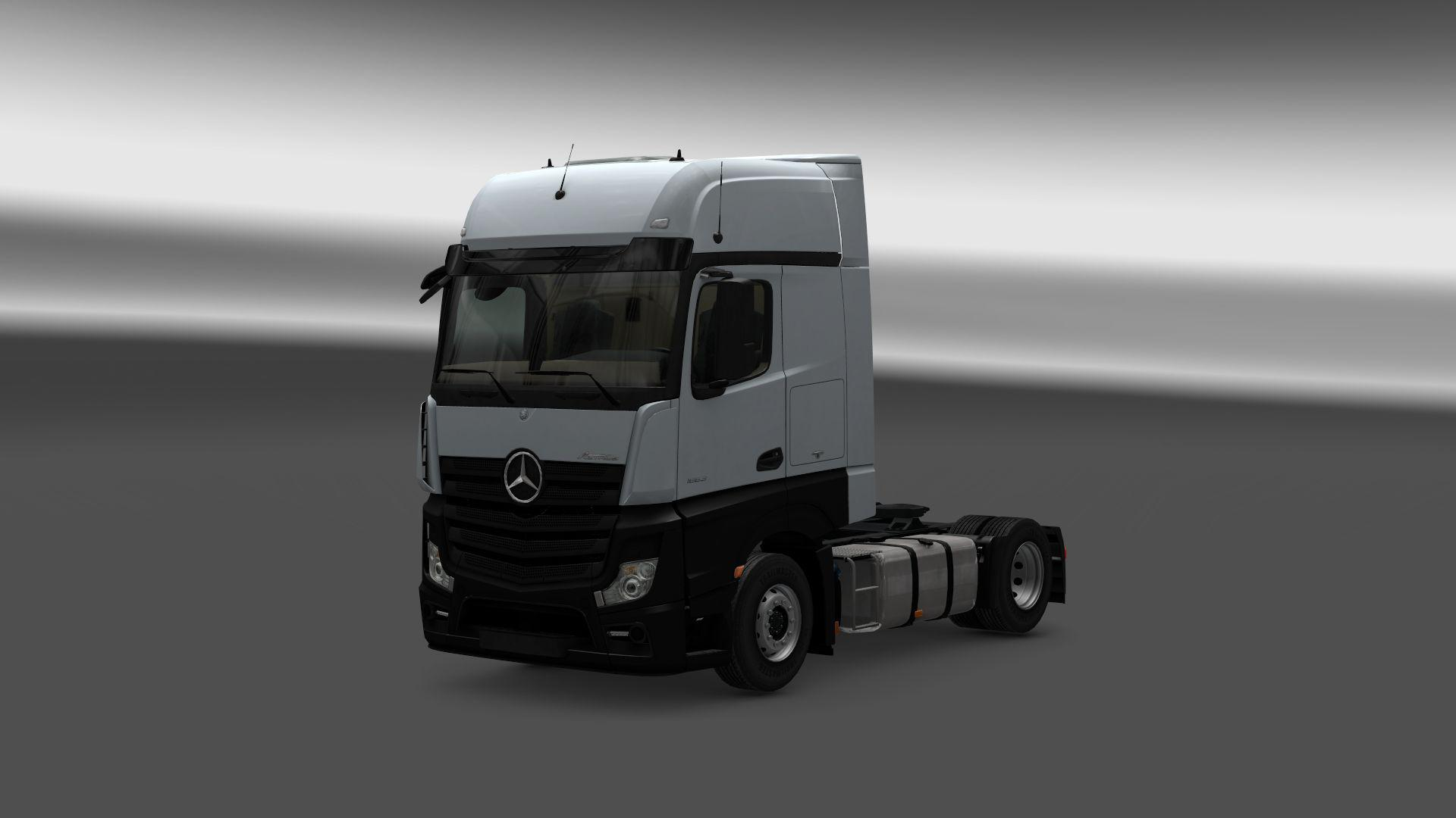 Mercedes Actros Mp4 Reworked V1 8 Truck Mod Euro Truck