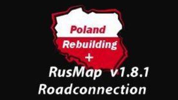 POLAND REBUILDING + PROMODS + RUSMAP ROAD CONNECTION 1 34