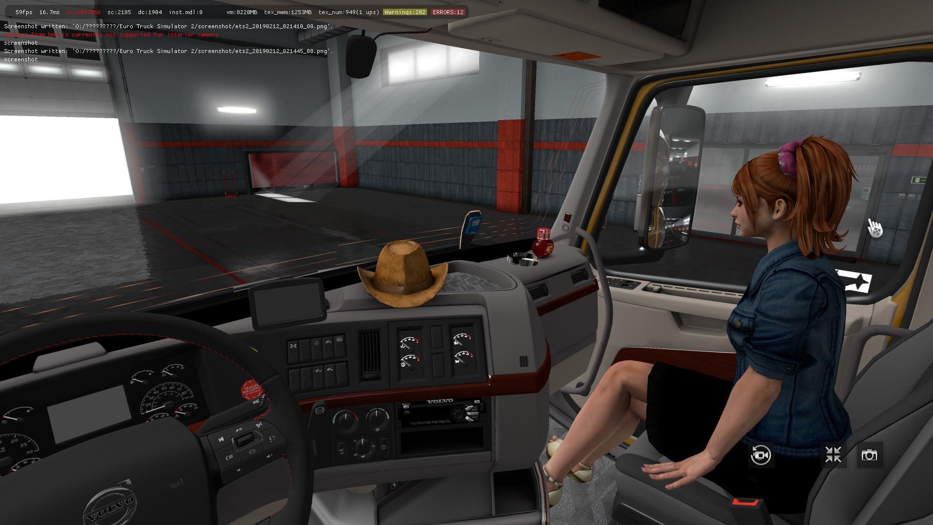 Inside Of A Semi Truck >> TRUCK VOLVO VNL 2018 V2.17 ETS2 1.33, 1.34 TRUCK MOD -Euro Truck Simulator 2 Mods