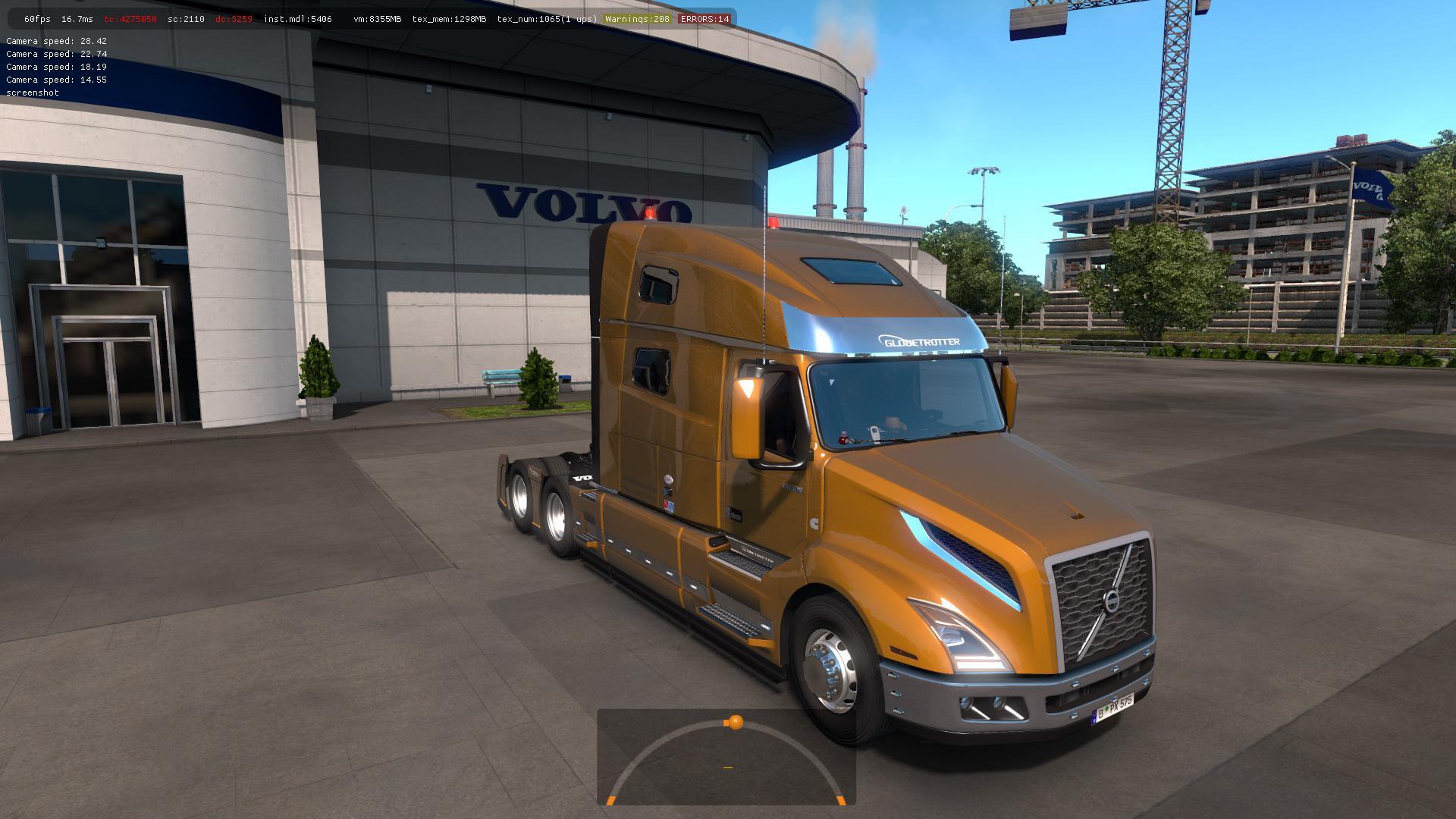 Truck Volvo Vnl 2018 V2 17 Ets2 1 33 1 34 Truck Mod Euro
