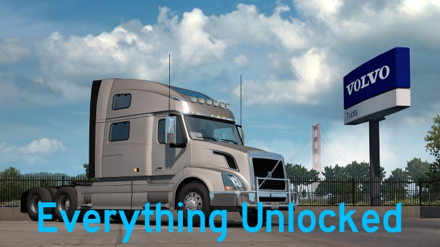 Everything Unlocked v 1 1 1 Mod -Euro Truck Simulator 2 Mods
