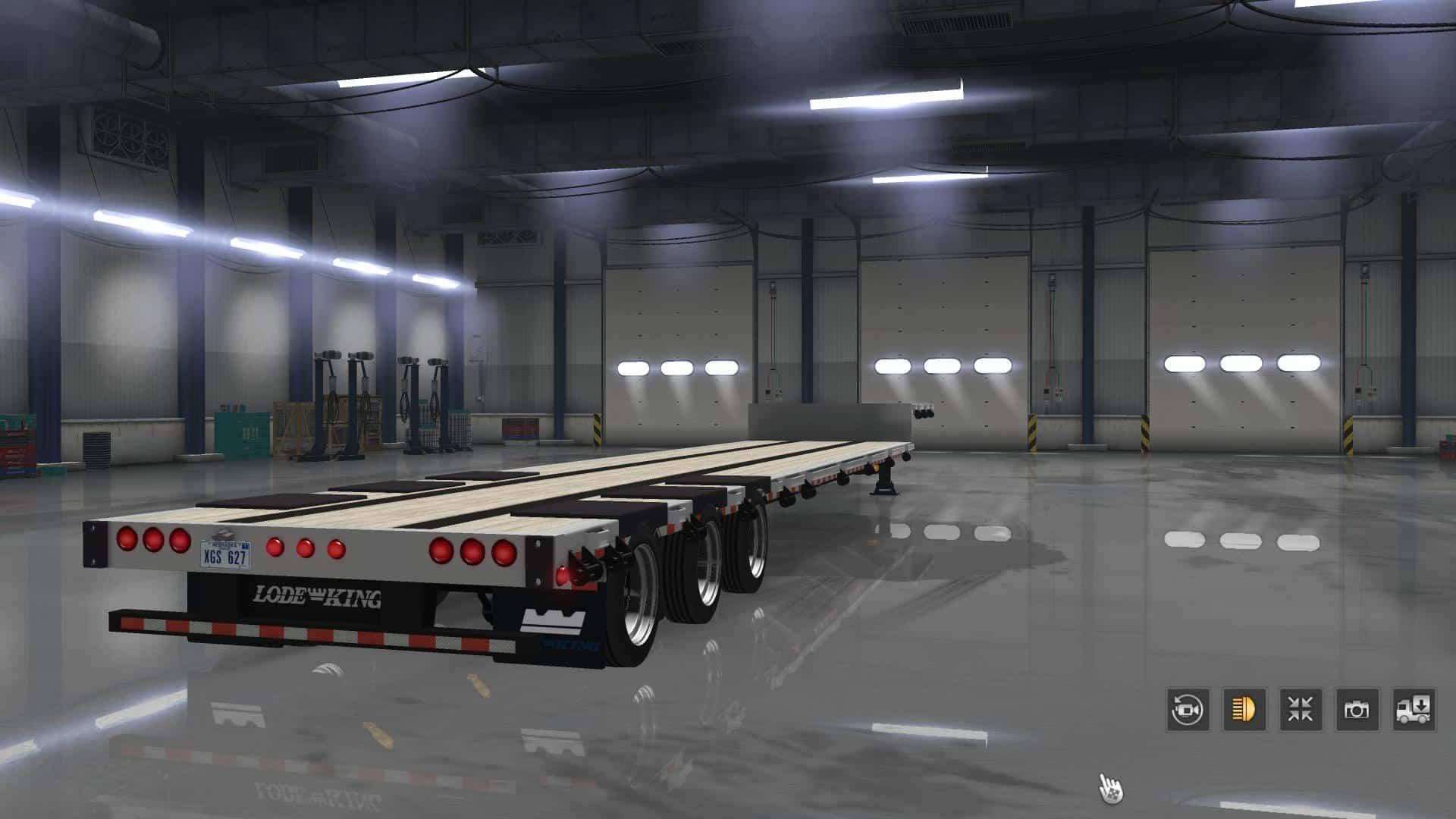 Lode King Drop Deck V2 5 Ats For Ats Euro Truck Simulator