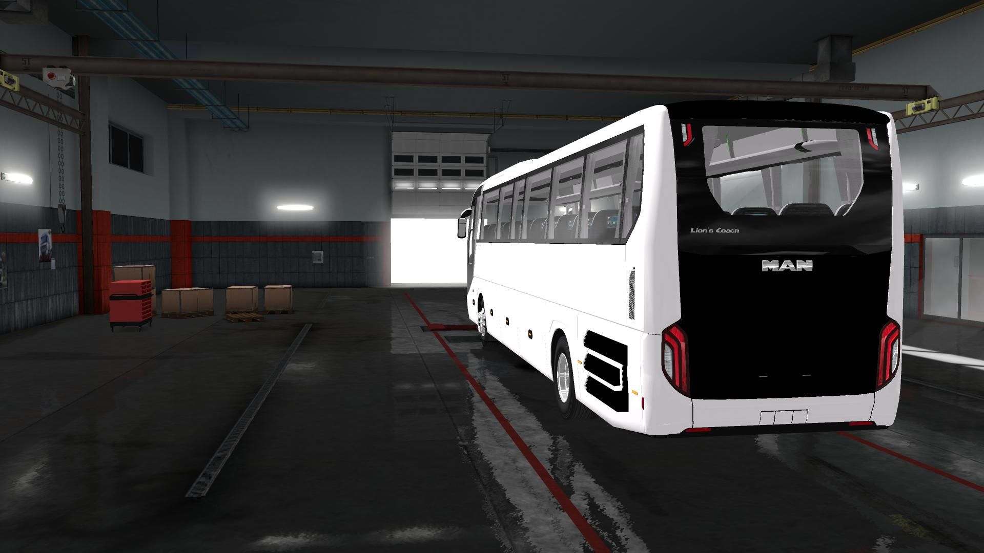Man Lion S Coach 2018 Euro6 Speed Limit 100km H V1 0 Bus