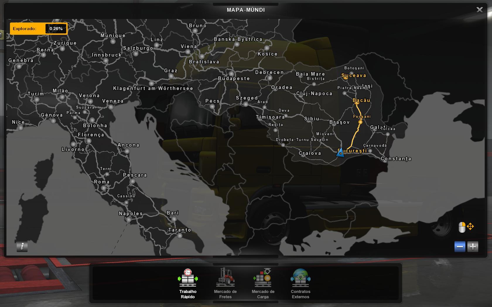 Profile Romania Map By Mirfi 1 8 1 34 X Ets2 Euro Truck