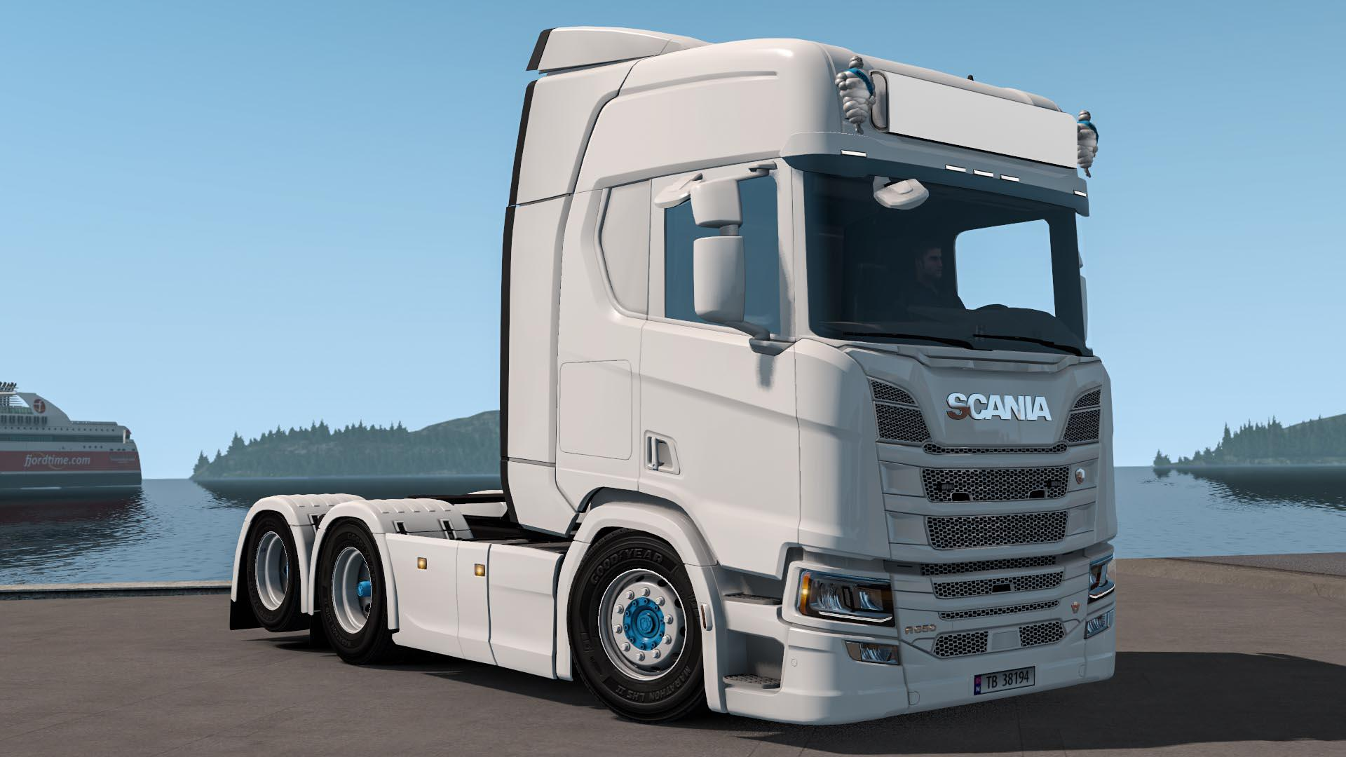 Scania Nextgen Lowered 1 34 Truck Euro Truck Simulator 2 Mods American Truck Simulator Mods